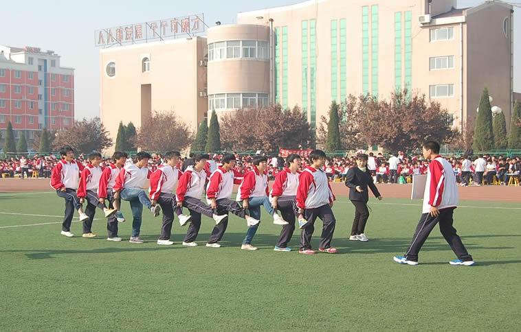 南宫中学 丰翼中学隆重举行第七届体育节