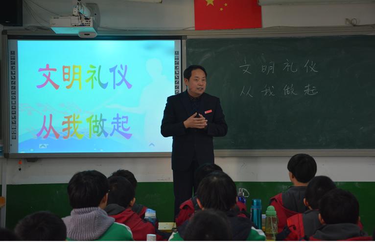 ——记南宫中学初中部主任刘英才
